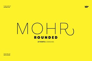 Mohr Rounded - Intro Offer 77% off