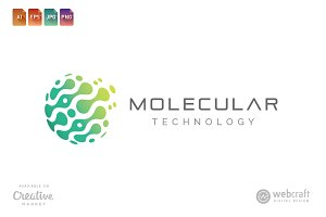 Molecular Technology Logo Template