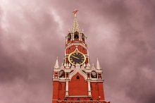 Kremlin view. Moscow, Russia