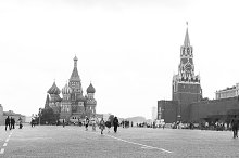 Red Square in Moscow. Russia