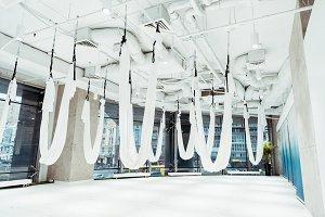 Light spacious studio with panoramic