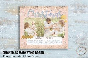 Holiday Mini Session Flyer Design