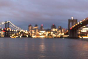 Blurred view on Dumbo