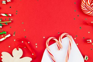New Year Christmas holiday decoratio