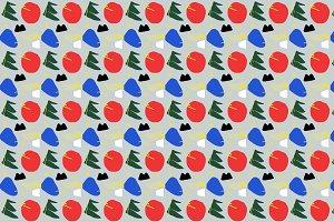 Primary Chunker Pop Art Pattern