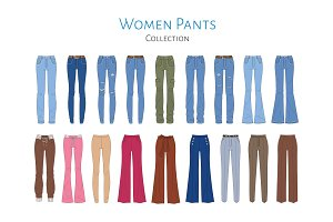 Women pants collection