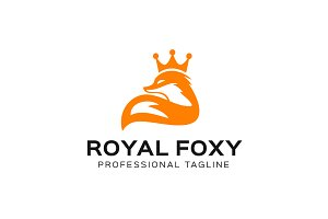 Royal Fox Logo Template