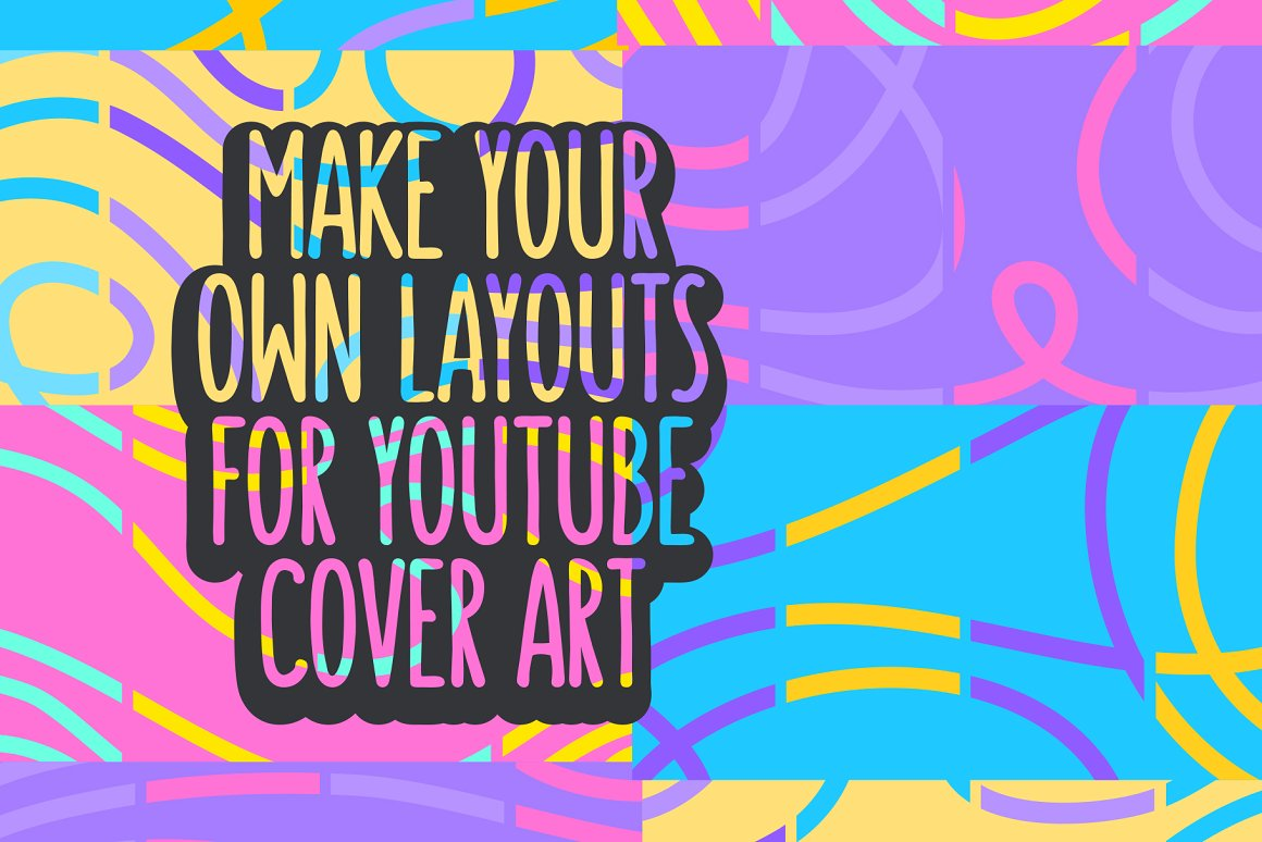 Cover Arts For YouTube Vlog Channel