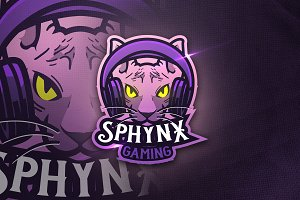 Spynx Gaming - Mascot & Sports Logo