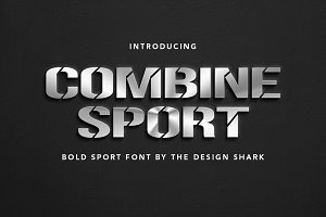 Combine Sport Typeface