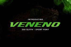 Veneno Typeface