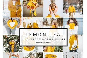 Mobile Lightroom Preset LEMON TEA