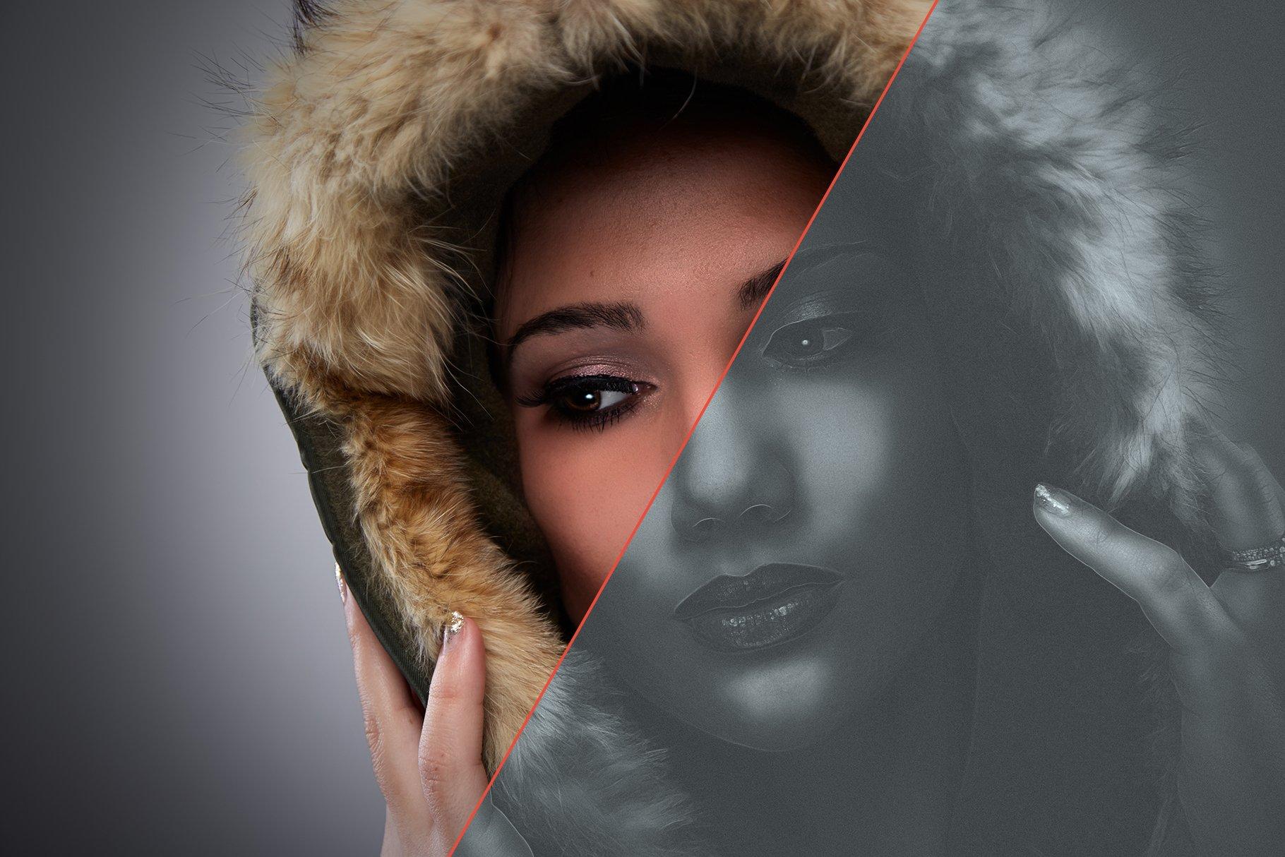 Noir Portrait - Photoshop Action - Actions - 4