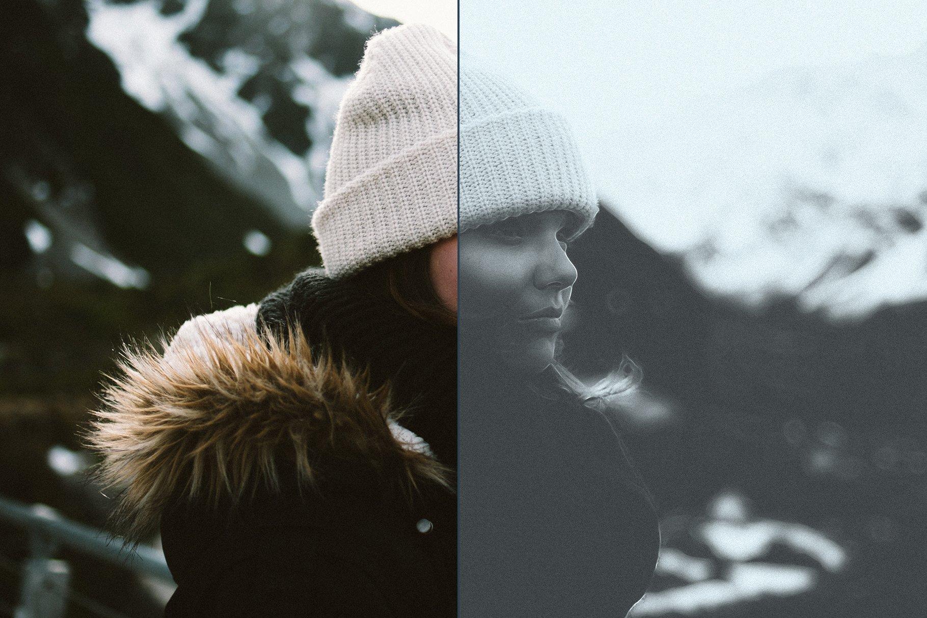 Noir Portrait - Photoshop Action - Actions - 9