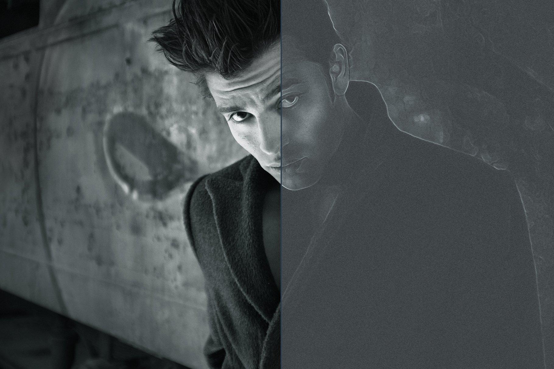 Noir Portrait - Photoshop Action - Actions - 10
