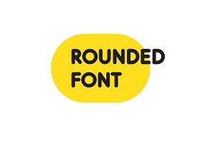 Rounded Modern Font