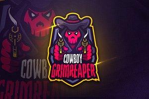 Cowboy Grimreaper - Mascot & Sports