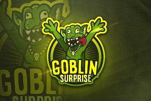Goblin Surpraise-Mascot&Sports Logo