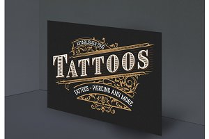 vintage Tattoo logo