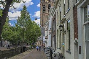 Oude Kerk in Delft, Holland