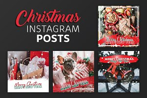 Christmas Instagram Post Templates