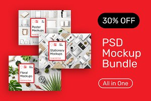 PSD Mockup Bundle - All in One!