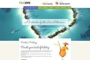 Travevo - Vacation WordPress Theme