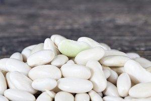 white beans pile