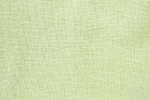 Green Woven Fabric Background Flat L