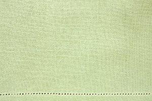 Flat Lay Light Green Fabric Backgrou