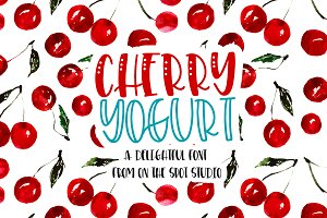 Cherry Yogurt