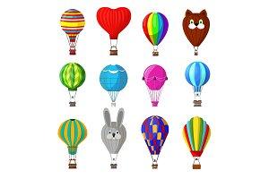 Balloon vector cartoon air-balloon