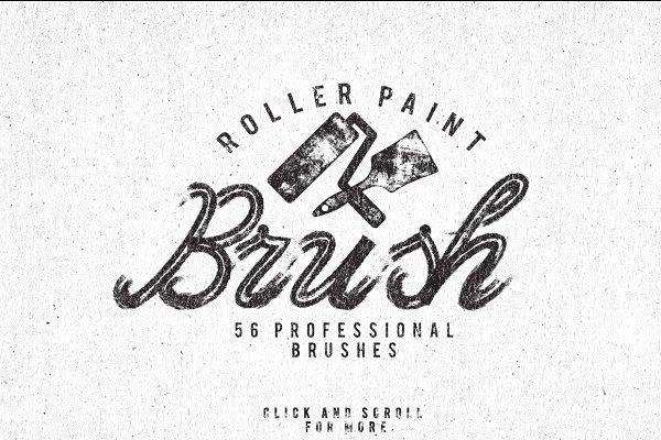 Roller Paint Brush + Bonus