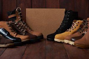 Men footwear theme