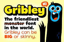 Gribley Font Family!