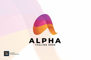 Alpha - Logo Template