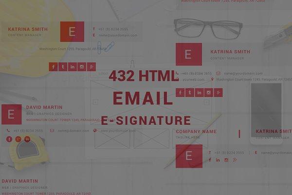 Html Email E-signature