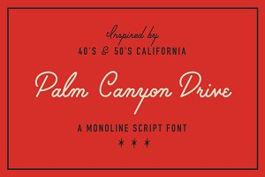 Palm Canyon Drive (Plus Extras!)
