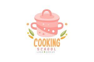 Cooking school logo design, kitchen
