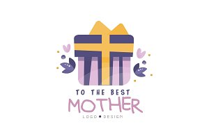 To the best Mother logo design