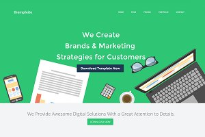 HTML Website Template – thempleite