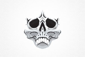 Skull Vector Sticker