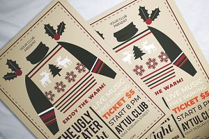 Ugly Sweater Night Flyer