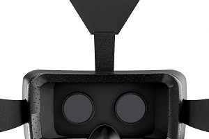 VR Goggles Headset Isolated