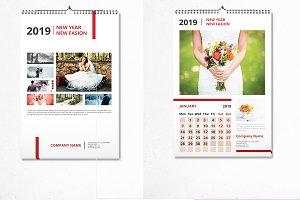 Wall Calendar 2019 - V13