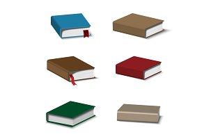 colorful books set