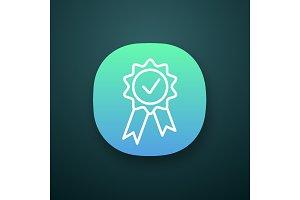 Award medal app icon