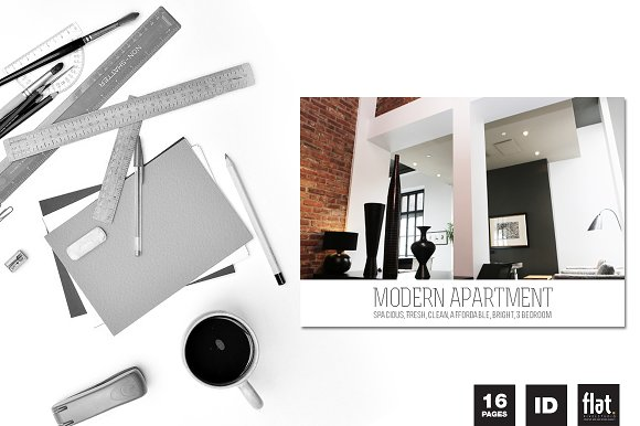 Indesign Modern Apartment Brochure Brochure Templates Creative New Apartment Brochure Design