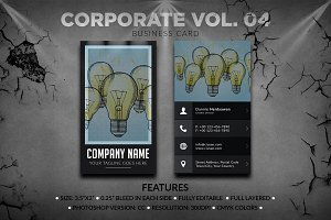 Corporate Business Card Vol. 04