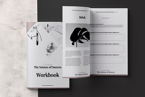 E-course Workbook InDesign Template